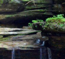 Hocking Hills Area Waterfall 2 Sticker