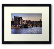 Boats at The Shore Framed Print