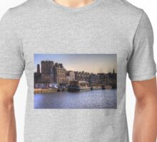Boats at The Shore Unisex T-Shirt