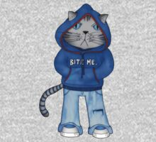Bad Day Kitty Kids Clothes