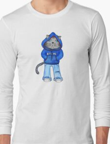 Bad Day Kitty Long Sleeve T-Shirt