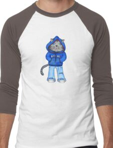Bad Day Kitty Men's Baseball ¾ T-Shirt