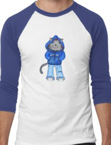 Bad Day Kitty Men's Baseball ¾ T-Shirt