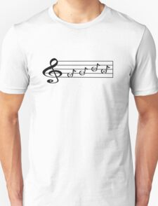 TUBA - Words in Music - V-Note Creations  Unisex T-Shirt