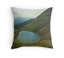 Goats Water,The Lake District Throw Pillow