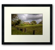 Home on the Farm - Princess Hwy, Nairne, Sth Aust Framed Print