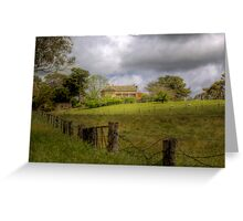 Home on the Farm - Princess Hwy, Nairne, Sth Aust Greeting Card