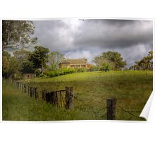 Home on the Farm - Princess Hwy, Nairne, Sth Aust Poster