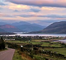 Ullapool upon Dusk by Kristina K