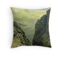 The Long Walk In.. Throw Pillow