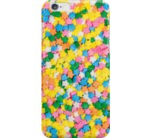 Candy Sprinkles Background iPhone Case/Skin