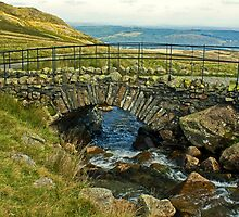 The Old Packhorse Bridge... by Jamie  Green