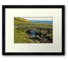 The Old Packhorse Bridge... Framed Print
