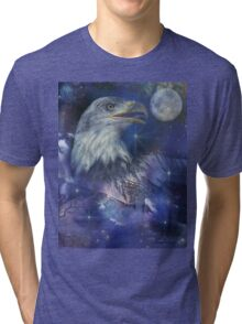 American Eagle - Symbol of Freedom & Independence Tri-blend T-Shirt