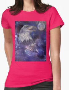 American Eagle - Symbol of Freedom & Independence Womens Fitted T-Shirt
