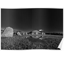 Castlerigg stone circle, near Keswick Poster