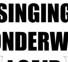 Wonderwall Oasis Sticker