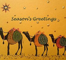 Season's Greetings  by ©The Creative  Minds