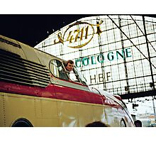 Trans Europe Express at Cologne, Germany, 1980s. Photographic Print