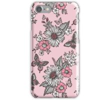 Butterflies in a Sunny Garden iPhone Case/Skin