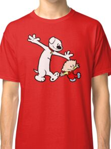 Stewie and Brian (C & H) Classic T-Shirt