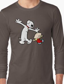 Stewie and Brian (C & H) Long Sleeve T-Shirt