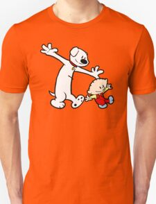 Stewie and Brian (C & H) Unisex T-Shirt
