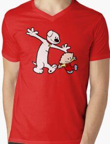 Stewie and Brian (C & H) Mens V-Neck T-Shirt