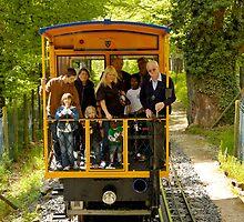 Nerobahn funicular, Wiesbaden, Germany. by David A. L. Davies