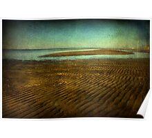 Biloxi Low Tide Poster