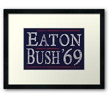 Retro Eaton Bush '69 Framed Print