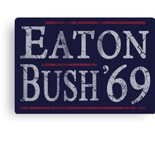 Retro Eaton Bush '69 Canvas Print