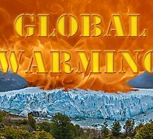 Fire & Ice - Global Warming by Buckwhite