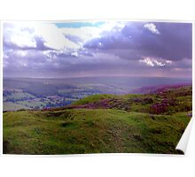 The View from Bank Top - Rosedale Poster