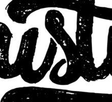 Brush Script Austin, Texas Sticker