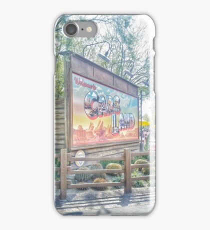 welcome to carsland iPhone Case/Skin