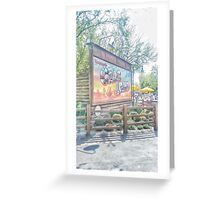 welcome to carsland Greeting Card