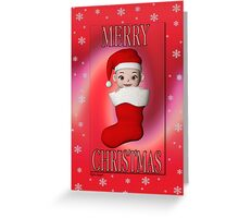 Cute Christmas Card Greeting Card