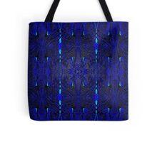 Blue Erotic Psychedelia Tote Bag