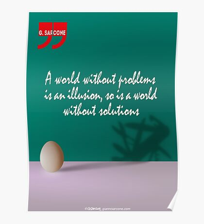 A World Without... (Quotation) Poster