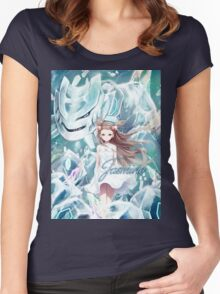 Pokemon - Jasmine - Steelix Women's Fitted Scoop T-Shirt