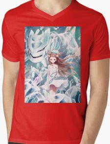 Pokemon - Jasmine - Steelix Mens V-Neck T-Shirt