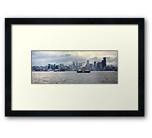 Seattle, Washington Framed Print