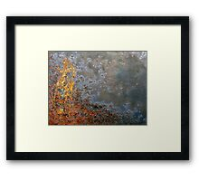 The Fires of Transformation Framed Print