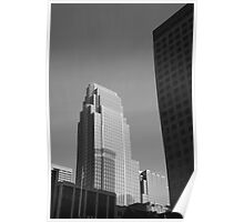 Minneapolis Skyscrapers Poster