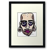 Bored out of my skull Framed Print