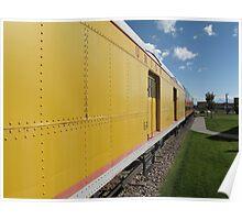 Railroad Train Poster