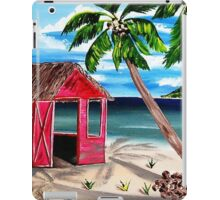 Pink CoCoNut Hut iPad Case/Skin