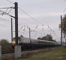 Train on it's way to Retford by ANDREW BARKE