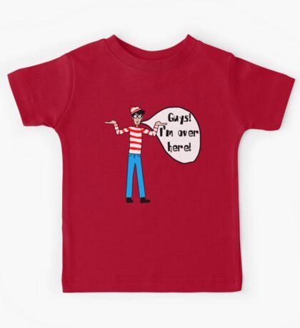 Wally's Here Kids Tee